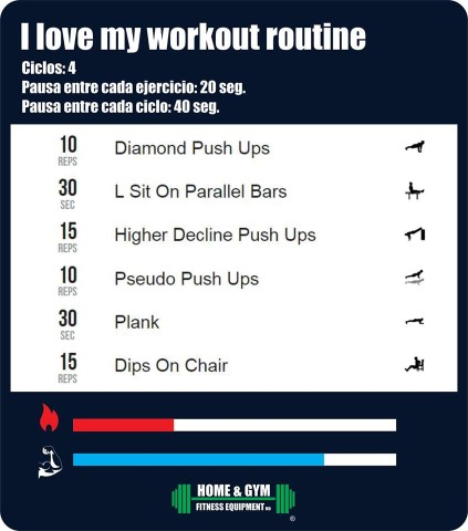 I love my workout
