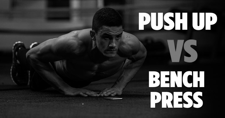 push ups vs bench press