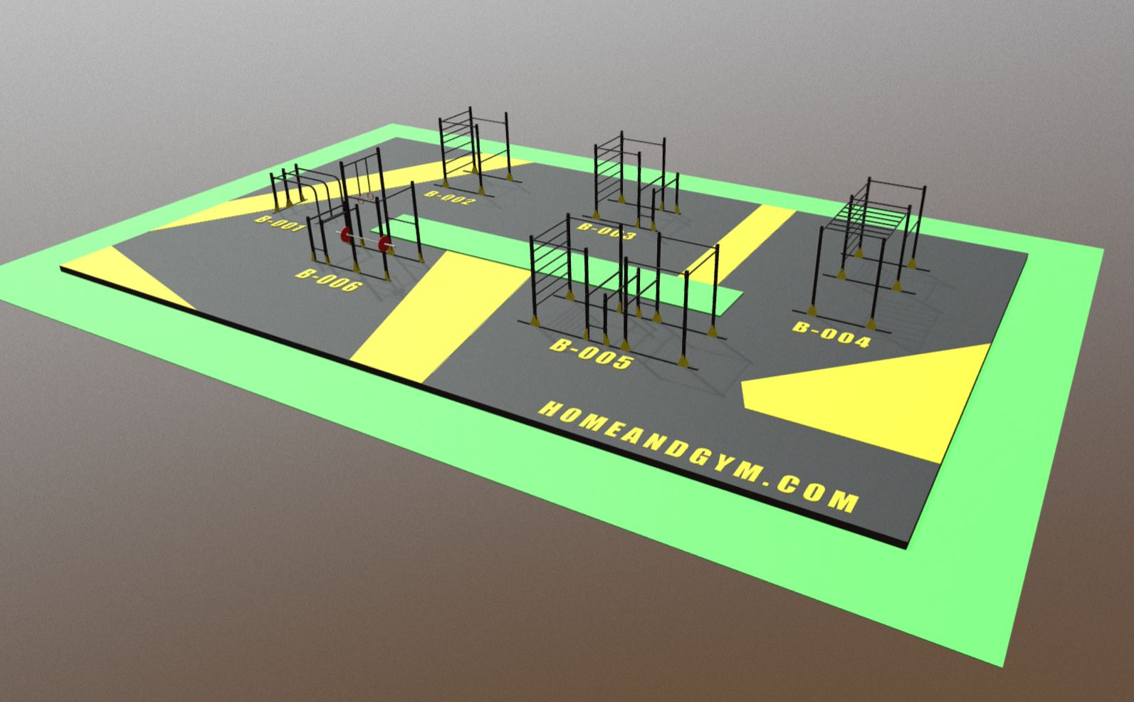 Parque urbano y parque lineal