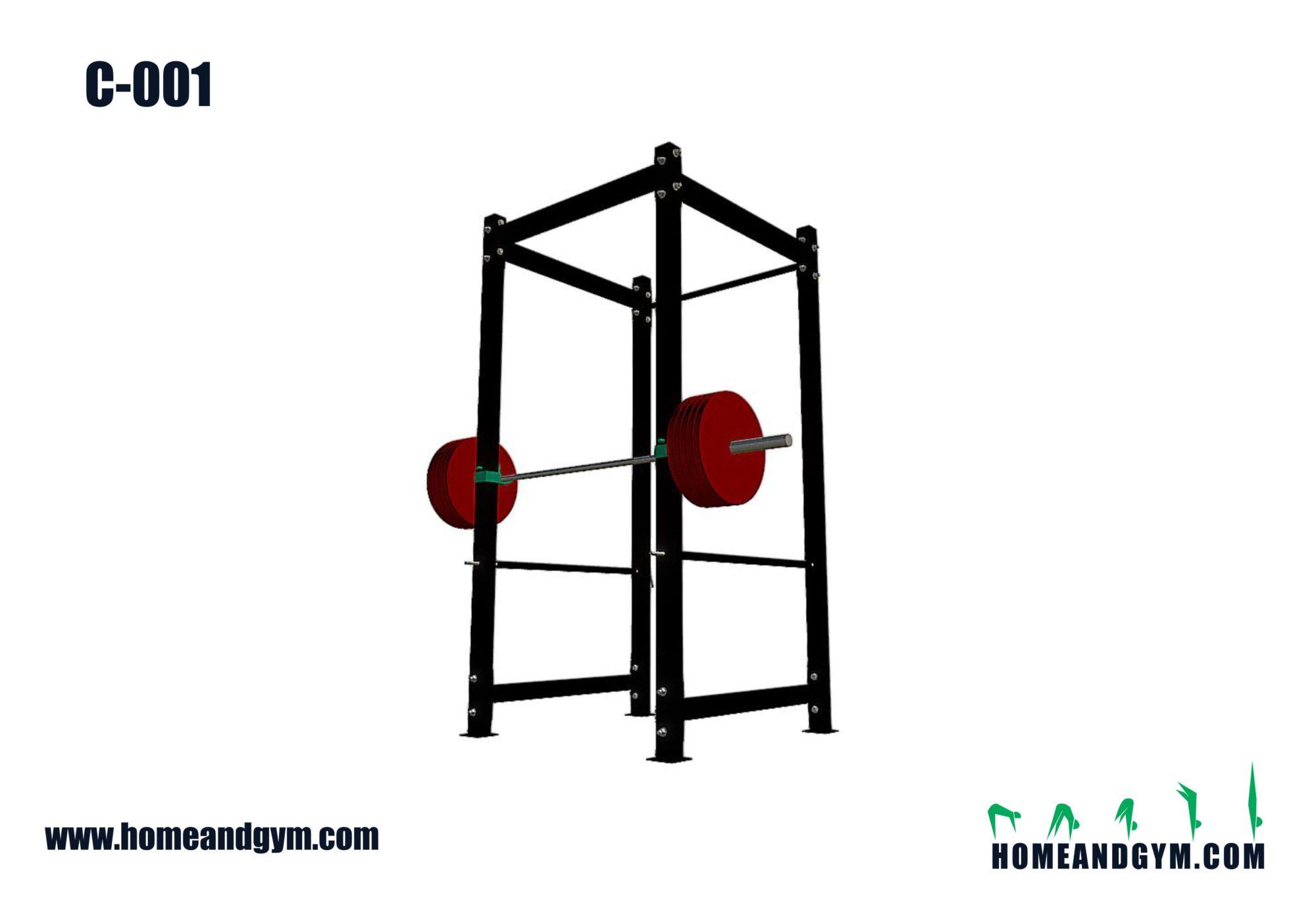 Equipo para halterofilia power rack