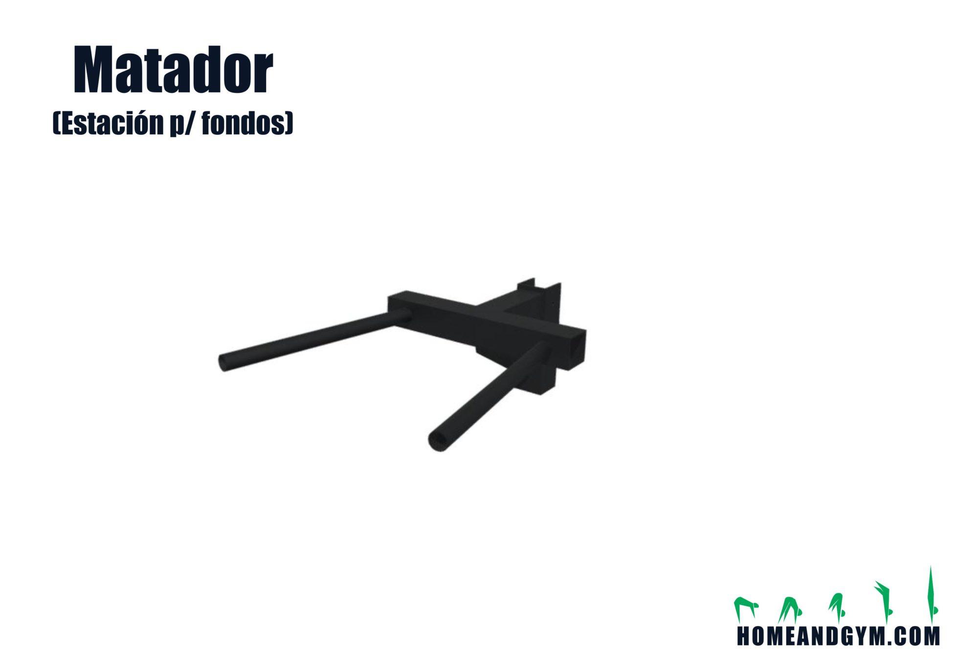 Matador / estación para dips fondos