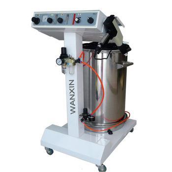 Equipo para la aplicación de pintura en polvo electrostática