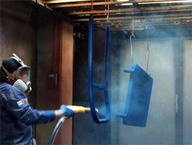 pintura electrostática en monterrey